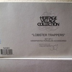 New England Lobster Trappers Dept 56